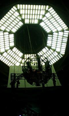 武道館の天井